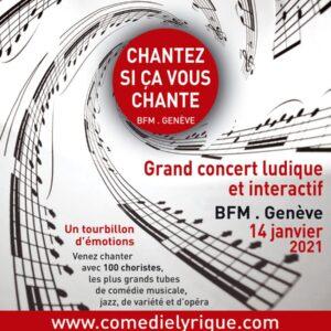 Chantez Si ça Vous Chante – Salle Centrale De La Madeleine, 01.02.2022, 14h30.